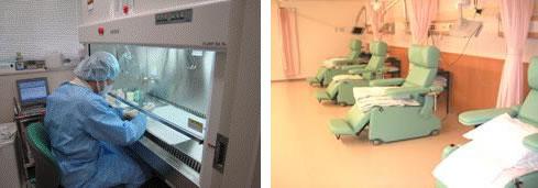 プロトコール監査システム、化学療法支援システム、安全キャビネット(CLASS?A)2台